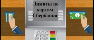 Лимиты по картам сбербанка в сутки через банкомат и кассу